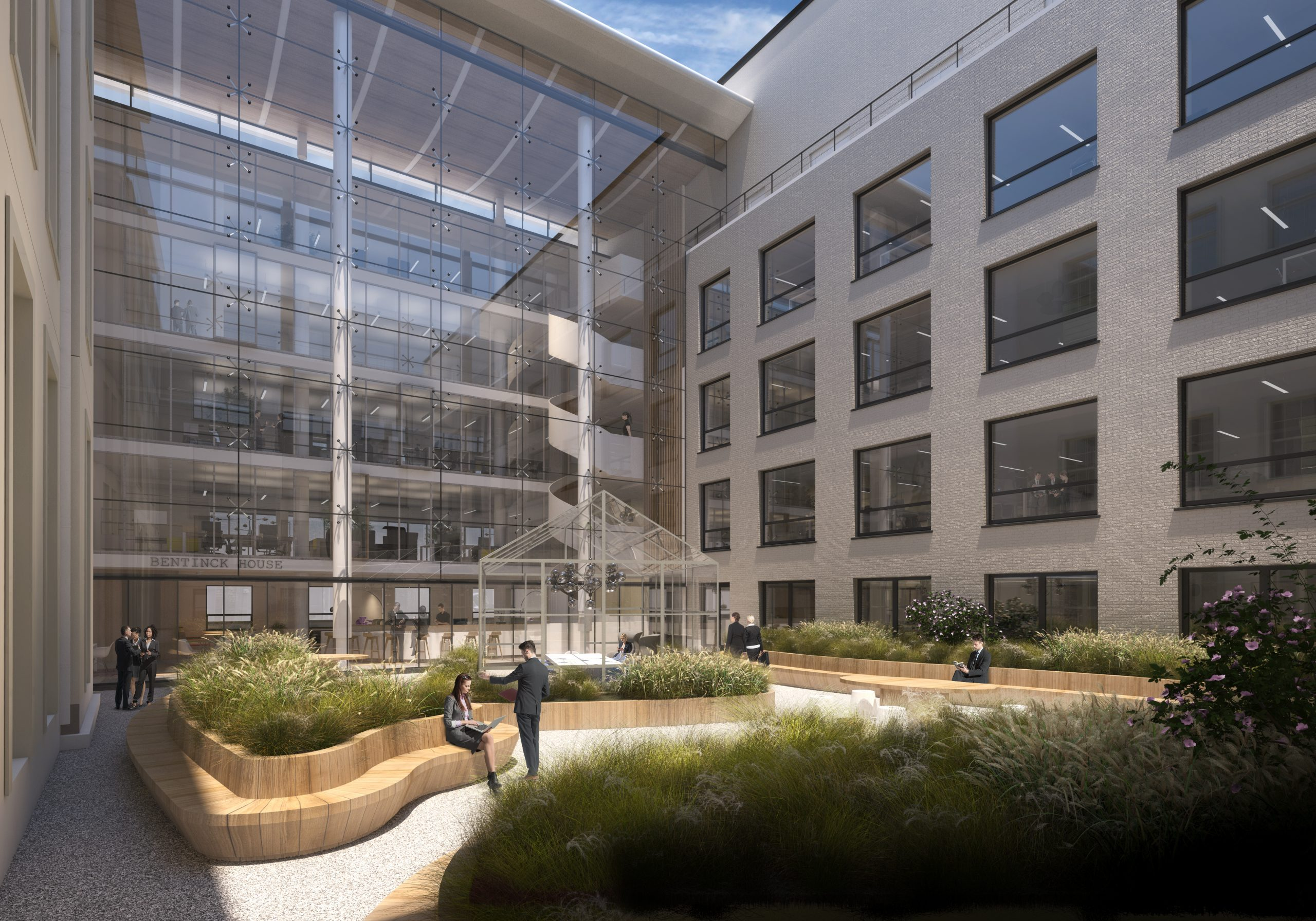 kantoor d binnentuin  Kentie & Partners Archtekten
